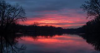 This mornings sunrise....