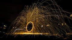 171202 3304 (steeljam) Tags: steeljam nikon d800 lightpainters wire woll spinning o2 isle dogs beach long exposure