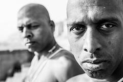 Portrait of Pilgrims-DSC_9117-2 (thomschphotography3) Tags: portrait pilgrims blackandwhite streetphotography asia india varanasi benares religion hinduism hindu monochrome