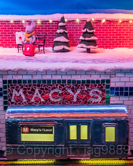 "2017 Holiday Window Display ""The Perfect Gift Brings People Together"" at Macy's Herald Square, New York City (jag9889) Tags: 2017 2017holidaywindowdisplay 20171203 34thstreet christmas christmastree departmentstore display gift heraldsquare holiday miniature macy macys manhattan midtown mouse ny nyc newyork newyorkcity night nightphotography nightscene outdoor retail store storewindow subway subwaycar text transportation usa unitedstates unitedstatesofamerica window jag9889"