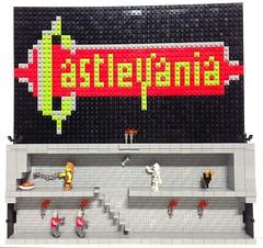 castlevania (fabien7857) Tags: castlevania dracula nes nintendo konami retrogaming lego moc belmont