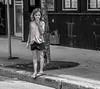 La grande question (maoby) Tags: rouge grande question lumix gx7 75mm elle child enfant rue street montréal