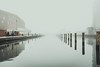 Staring into the nothingness (A.Dissing) Tags: saying nothing sometimes says most fog foggy smog misty water harbor ship a7ii anders a7 amazing art awesome adventure a7m2 angle artistic angry ref reflection really blue white infinity horizon