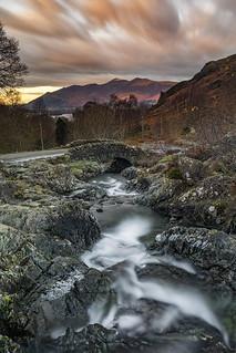 Skiddaw from Ashness Bridge, nr Keswick, Lake District