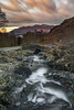 Skiddaw from Ashness Bridge, nr Keswick, Lake District (MelvinNicholsonPhotography) Tags: ashnessbridge lakedistrict lakes cumbria bridge packhorsebridge sunset skiddaw mountain sky clouds colour river longexposure rocks melvinnicholsonphotography