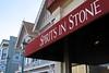 Spirits in Stone (AntyDiluvian) Tags: sanfrancisco california sausalito shop gallery spiritsinstone stonesculpture awning