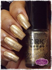 Magic Gold - DRK Nails (Paty Domingues) Tags: esmaltadasdapatydomingues drknails dourado