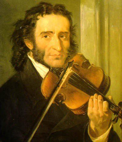 Niccolò Paganini 🎻 🎨 Andrea Cefaly P.D. ] ; ) :::\☮/>> http://www.elettrisonanti.net/galleria-fotografica#violino  #capricci #diavolo 👿 #chitarra #virtuoso #sperimentale #classica 🎵 #rock #concerti #paganini #musica #nonripete