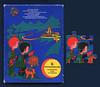 """Schachtel  für das Kinderbestecks """"Mondmänchen"""" von WMF, 1969 (altpapiersammler) Tags: schachtel box vintage verpackung package alt old raumfart weltraum mond mondlandung kindheit kind childhood child wmf marke markenname markenprodukt brand astronaut space universe puzzle spielzeug toy"""