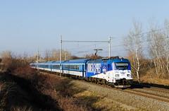 Kometa sa vracia (Nikis182) Tags: 380017 čd ladná škoda electric locomotive railway railroad train vlak