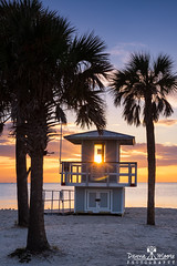 Sunset on the Gulf, Tarpon Springs, Florida (DawnaMoorePhotography) Tags: fl florida fredhowardpark sunset beach beachsunset beachsunsetimages beachsunsetpictures beachsunsettarponsprings beachsunsets floridabeachpictures gulfcoast gulfofmexico lifeguardhut lifeguardstand lifeguardstation ocean oceansunset palmtree palmtreesunset palmtrees picturesoffloridabeaches picturesofsunsets sunsetatthebeach sunsetphotography sunsetphotos sunsetpictures tarponsprings tarponspringsfl tarponspringsflorida unitedstates us