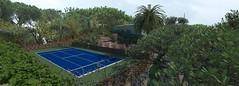 view tennis court