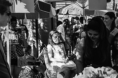 dod 09840 (m.r. nelson) Tags: dayofthedead diadelosmuertosmesa az arizona southwest usa mrnelson marknelson markinaz blackwhite bw monochrome blackandwhite bwartphotography portraits peopledíadelosmuertosfestivalmesa2017