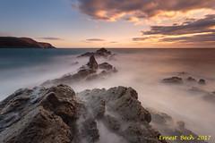 Punta Del Burró. (Ernest Bech) Tags: catalunya girona costabrava altempordà llançà sunrise sotidadesol rocks roques landscape longexposure llargaexposició
