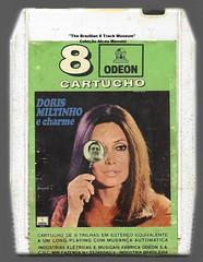 """1970 - Dóris Monteiro & Miltinho / Dóris, Miltinho e Charme - brazil 8 track - fita cartucho de 8 pistas (""""The Brazilian 8 Track Museum"""") Tags: alceu massini vintage collection samba mpb jobim"""
