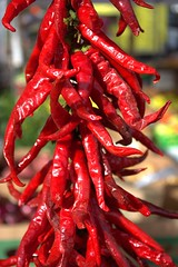 Red Hot Chilli Peppers (swong95765) Tags: chilli pepper peppers market sale produce heat hot capsaicin