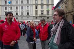 IMGP1318 (i'gore) Tags: firenze cgil cisl uil pensioni presidio sindacato libertà lavoro solidarietà diritti giustizia