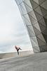 Claire-37 (santiago.roel1) Tags: dance danseuse dancing confrontation sky cloud musee confluence fall tombe mouvement