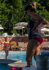 Pool Girl (richardserra63) Tags: family girl mother pool vacation puertovallarta sun contrast beach travel colorful panasonic lx5 lumix