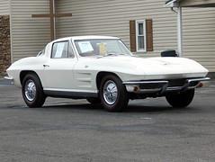 1964 Chevy Corvette (splattergraphics) Tags: 1964 chevy corvette c2 carshow carlisle springcarlisle carlislepa