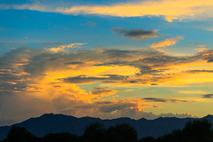Painted Clouds (Carl Cohen_Pics) Tags: sky southwest clouds canon canon7dmarkii nature colors naturephotography nubes komatke arizona sunset summer mountain