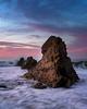 Corona Del Mar Sunrise Seastack (RyanLunaPhotography) Tags: cdm california canon coronadelmar newportbeach ocean orangecounty socal southerncalifornia sunrise beach landscape seascape