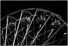 Riesenrad b sw (fotokunst_kunstfoto) Tags: silhouette silhouett silhouetten schattenbilder umriss kontur konturen schattenriss