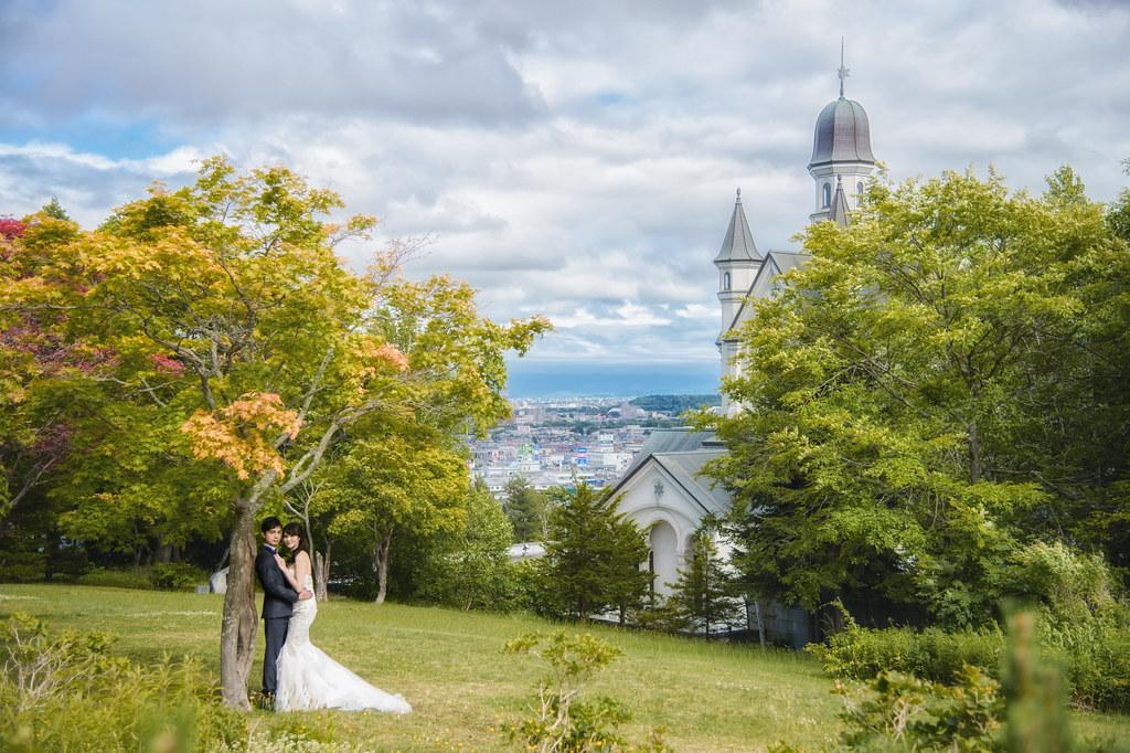 北海道婚紗 旭川雪之美術館婚紗拍攝