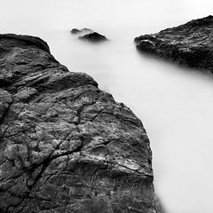 9CB_4262 (pattana92392) Tags: seawave sea longexposure sunset coast water fineart stone blackwhite