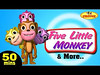 five little monkeys (kidsrhymes) Tags: nurseryrhymes 5littlemonkeys fivelittlemonkeys fivelittlemonkeyspoem jumpingonthebed littlestar nurseryrhyme rhymes wheelsonthebus