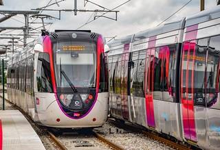 Jeux de reflets sur le T11 Express