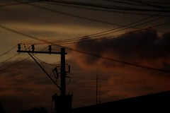 City Sunset (a.gcastro photoshutt) Tags: city nights sunset clouds