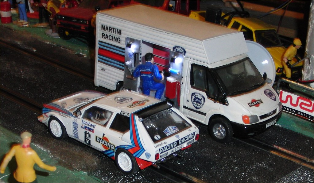 the world's most recently posted photos of lancia and scalextric