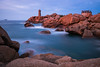 Le Phare de Ploumanac'h (Thomas Vanderheyden) Tags: phare mer sea rocher roc granit poselongue longexposure paysage landscape nature thomasvanderheyden fujifilm colors couleur rose pink bretagne france beautifulearth ngc