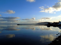 Looking over Maitland place early morning (stuartcroy) Tags: orkney island maitland place firth reflection beautiful scotland sea scenery sky sony still