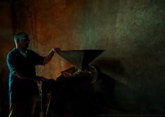 MAKE LIGHT WORK (GOPAN G. NAIR [ GOPS Creativ ]) Tags: gopsorg gops gopsphotography gopangnair gopan photography mill light dark darkness texture wall make work low