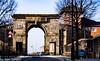 Bishop's Gate Londonderry  UK 6 (Yasu Torigoe) Tags: bishopsgateonbishopstreetinderrythisisoneofthefour londonderry northernireland unitedkingdom gb bishopsgateonbishopstreetinderrythisisoneofthefouroriginalgatesinthecitywallsofderrynorthernirelanduk