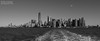 Manhattan on monochrome (Magic life gallery) Tags: jerseycity newyork unitedstates us