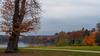 Autumn Sundown at Virginia Water-EB160406 (tony.rummery) Tags: autumn autumncolours em10 lake leaves mft microfourthirds omd olympus path sunset surrey virginiawater england unitedkingdom gb