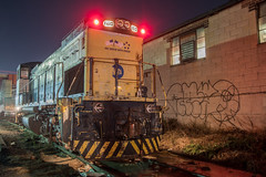 Bad Luck Protect (Nick Gagliardi) Tags: train trains long island railroad lirr li emd diesel mp15ac electromotive division work motor city lic protect duty queens