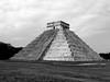 Chichen Itza (_EdG_) Tags: mexico architecture building maya quintanaroo bw blackandwhite pyramide sky archaeology empire yucatan