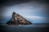 All Alone (Augmented Reality Images (Getty Contributor)) Tags: portknockie longexposure bigstopper coastline landscape leefilters scotland water waves colours morayfirth canon seascape clouds rocks unitedkingdom gb