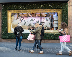 "2017 Holiday Window Display ""The Perfect Gift Brings People Together"" at Macy's Herald Square, New York City (jag9889) Tags: 2017 2017holidaywindowdisplay 20171127 34thstreet animal architecture arcticcircle bear building christmas departmentstore display gift heraldsquare holiday house iceskating macy macys manhattan maritimebear midtown ny nyc newyork newyorkcity ornaments outdoor pedestrian people polarbear reflection retail storewindow usa unitedstates unitedstatesofamerica ursus window woman jag9889"