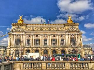 Paris France  ~  National Academy of Music ~ AKA ~  Opéra National de Paris Palais Garnier