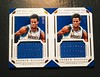 Pair of 2015-16 National Treasures Andrew Wiggins Super Swatches Jersey Cards. #'d 16/99, 55/99 (CardKing739) Tags: nba paniniamerica nationaltreasures andrewwiggins super swatches jersey jerseycard minnesotatimberwolves kansas jayhawks canada mapleleaf sports sportscards tradingcards cardhobby nike adidas underarmour picture photo art blue white pinterest instagram facebook tumblr fav100 fav50 fav25 pair wolves powerofthepack rare
