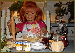 Das sind meine Zutaten ... aber ich glaube, ich habe das Mehl vergessen ... (Kindergartenkinder) Tags: advent weihnachtsbäckerei backen plätzchen kindergartenkinder annette himstedt dolls sanrike