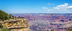 Grand Canyon - South Rim (mon_ster67) Tags: southrim grandcanyon mon ©mon matherpoint arizona panorama panoramic canon grandcanyonnationalpark grandcanyonnp worldheritagesite canoneost3i isistemple shivatemple coloradoriver layers rockscape tourists canyonland majestic summer travel nationalpark