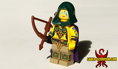 Alleria Windrunner (Saber-Scorpion) Tags: lego minifig minifigures moc warcraft wow worldofwarcraft legion alleria windrunner ranger hunter elf highelf elves highelves