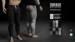 DUFAUX @ The Man Jail // DECEMBER 8th (luca.dufaux) Tags: luca dufaux manjail man jail meh belleza aesthetic signature male sweatpants