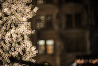 Munich Town Hall and Christmas Tree - Photo # 15 of a Christmas Series